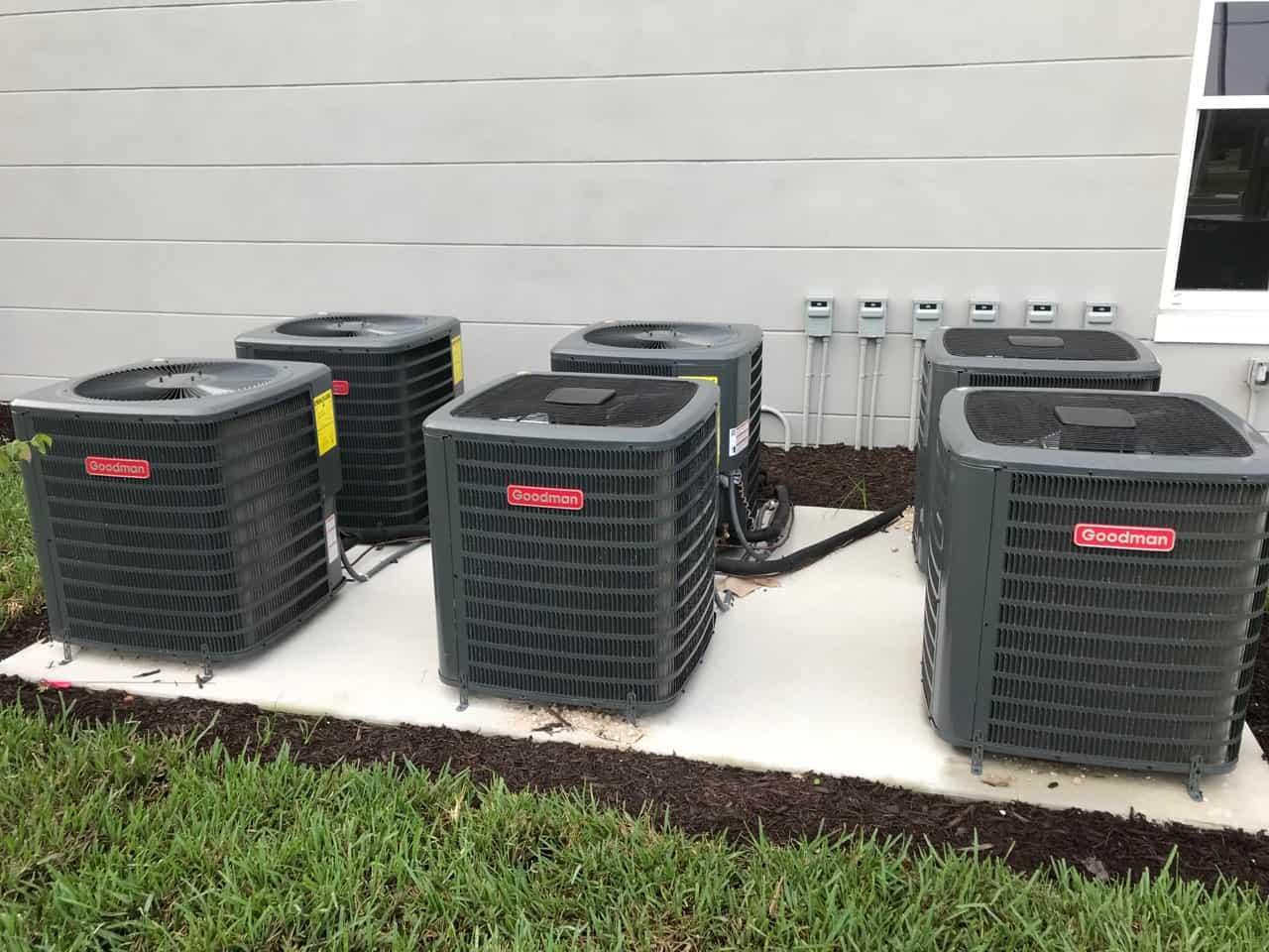 Goodman AC units